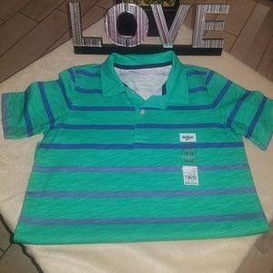 Boys Osh Kosh Stripe Polo Shirt